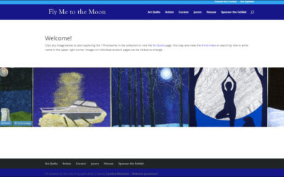 Fly Me to the Moon Website